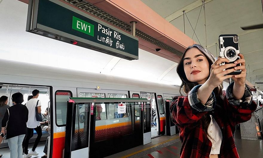 The Internet is rife with photoshopped images of Lily Collins' character from Emily In Paris at various locations in Singapore and Malaysia.