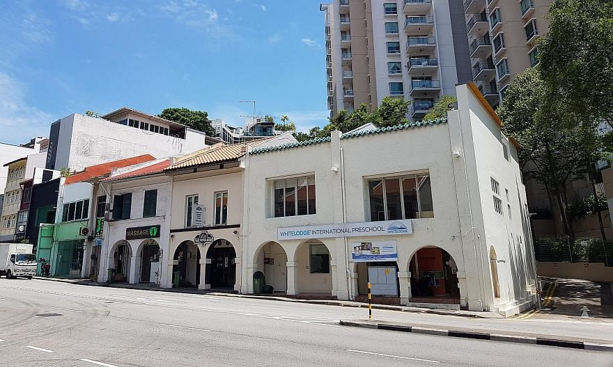 Three adjoining freehold shophouses at 262, 264 and 266 River Valley Road that are on sale via an expression of interest. Recent shophouse transactions include 52 Amoy Street that sold for $8.5 million, 44-46 Amoy Street for $21.3 million and 534 Nor