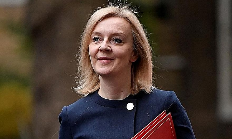 British Trade Minister Liz Truss said a US trade deal would benefit western port cities such as Liverpool.