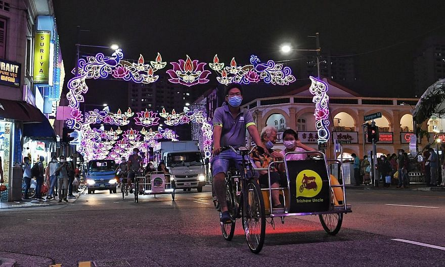 The Indian Heritage Centre will be ushering in the festival of lights with an array of online and offline activities until Nov 14. Free trishaw rides are available every Friday evening till Nov 13. The trishaws will make a round-trip journey from the