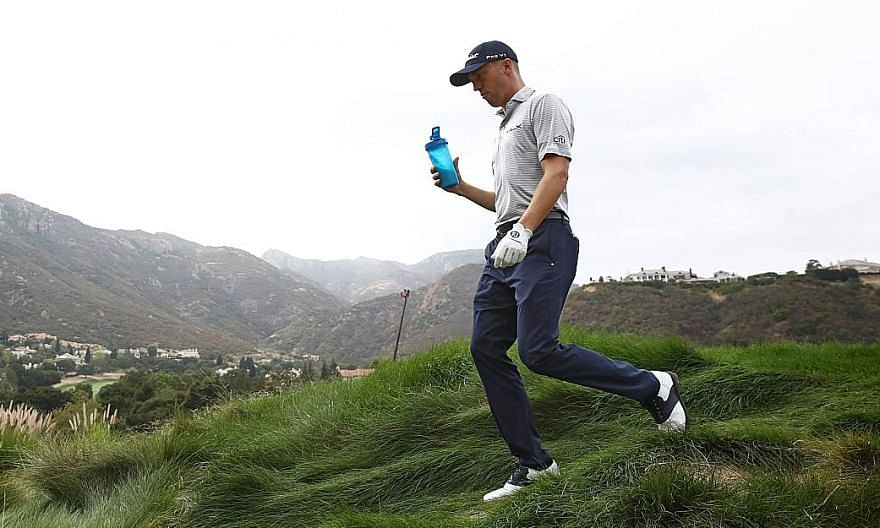 American Justin Thomas had seven birdies in his first 12 holes during Friday's second round of the Zozo Championship. He leads on 14-under 130, one clear of Lanto Griffin and Dylan Frittelli, who both carded 65s.
