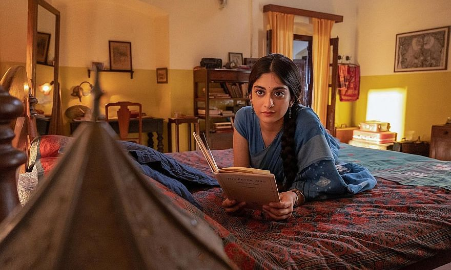 In A Suitable Boy, Indian actress Tanya Maniktala plays Lata (left), a university student from a well-to-do family seeking her own path even as her family plans an arranged marriage for her.