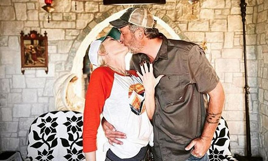 "OFFICIALLY ENGAGED: Less than a month after American country singer Blake Shelton posted his love for Gwen Stefani on social media on her 51st birthday, he has popped the all-important question to his girlfriend of five years. 	And her answer? ""Yes p"