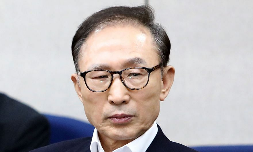 Lee Myung-bak, who was president from 2008 to 2013, was convicted of bribery and embezzlement offences in 2018.
