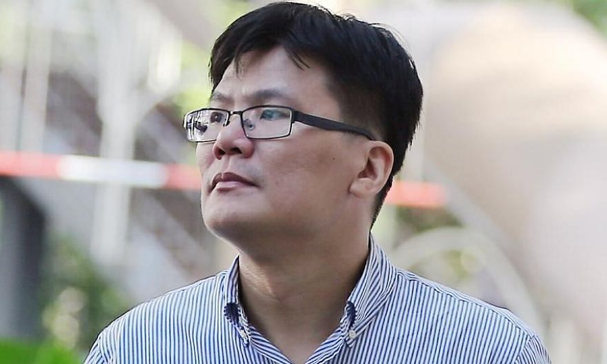 Former OCBC Bank treasury adviser Lu Chor Sheng (left) and former UOB relationship manager Timothy Tan Swee Thiam were convicted by the State Courts in separate cases.