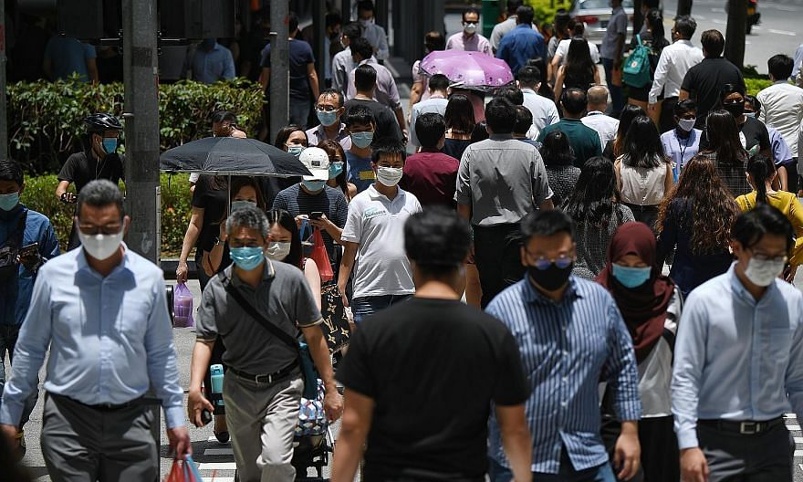 Singapore's labour market showed signs of improvement in the third quarter, but Maybank Kim Eng senior economist Chua Hak Bin said that employment will likely recover to pre-pandemic levels only in 2022 or even 2023.