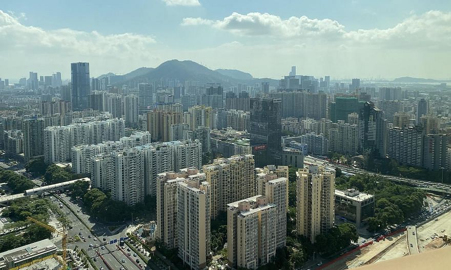 Shenzhen, home to the HQ of Internet giant Tencent, is likely to play a leading role in China's goal of becoming a tech power by 2035. ST PHOTO: ELIZABETH LAW Shenzhen has staged a remarkable recovery in its second quarter amid the pandemic, thanks t