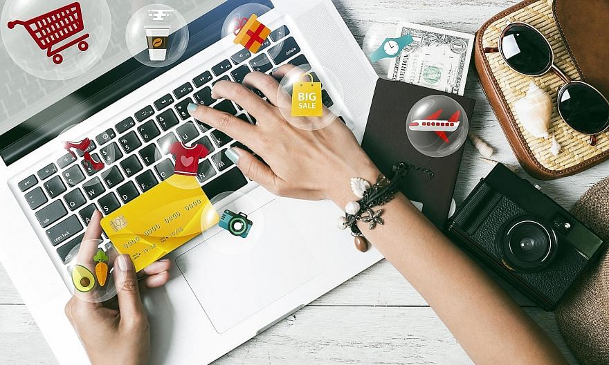 Excluding travel, Singapore's Internet economy grew 20 per cent to US$7.6 billion. Its e-commerce sector is the new leader, swelling by 87 per cent to US$4 billion in gross merchandise value as more people stayed home and made online purchases this y