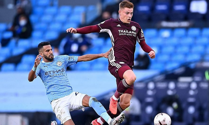 As Riyad Mahrez's Man City have lacked fluency in attack, Harvey Barnes' Leicester have seized the initiative and ascendancy in the Premier League.