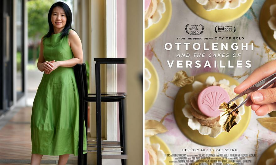 Ms Wong's chestnut quince cake is featured on the poster of the movie Ottolenghi And The Cakes Of Versailles.