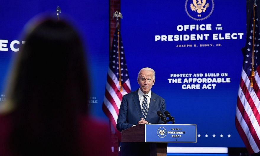 President-elect Joe Biden's vision is of an America with the world and leading the world. He will uphold international law and the rule of law, and will support a rules-based international order, says the writer.