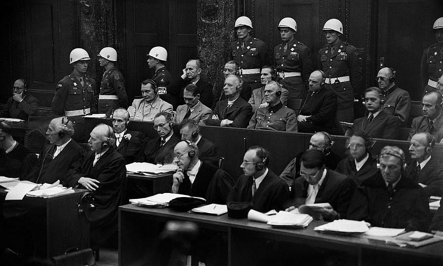A photo from November 1945 during the Nuremberg trials against 21 Nazi leaders for crimes against humanity. These trials, held 75 years ago, put in place international laws that are still in use today in the pursuit of justice.