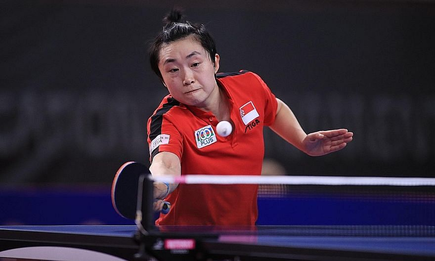 Feng Tianwei remains on a quest to regain her rhythm after a lengthy period without playing competitive matches. That quest will take her to Macau this month, and then Japan's T.League.