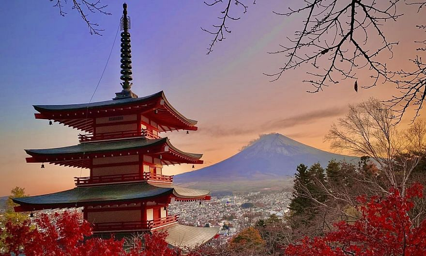 It may be too late this year for visitors to enjoy Japan's autumn season (above), but by next November, travellers might be able to do so again.