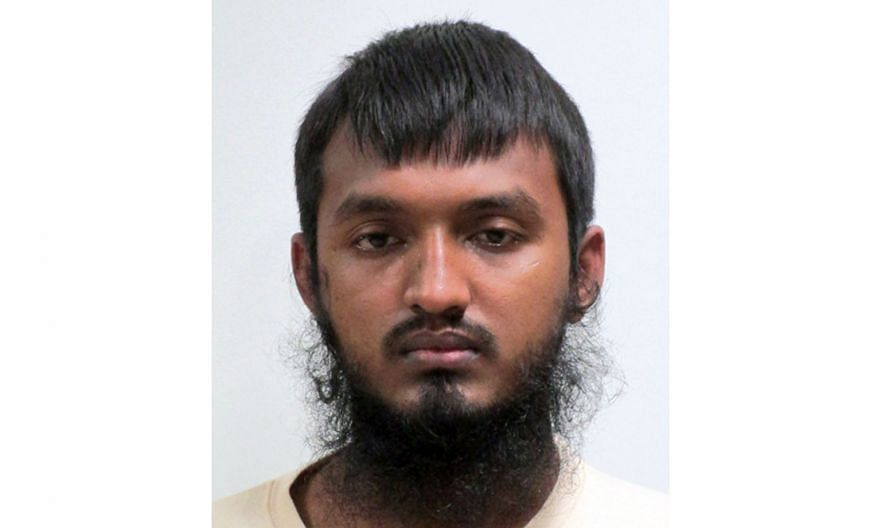 Construction worker Ahmed Faysal, 26, was arrested under the Internal Security Act in Singapore earlier this month for his alleged involvement in terrorism-related activities.