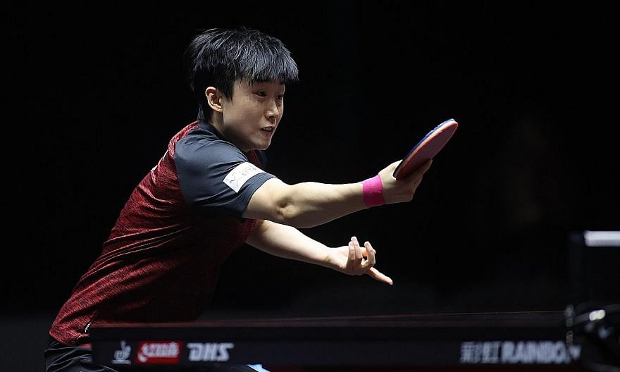 Feng Tianwei could not get the better of Chen Meng (above), who is now 8-1 in their head-to-head meetings. PHOTO: ITTF WORLD