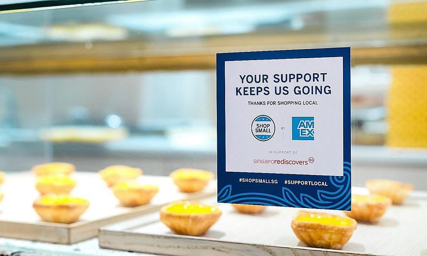 Financial services company American Express is helping to drive foot traffic back to stores by bringing its global Shop Small campaign to Singapore. Card members can get $5 cashback when they spend at least $10 at participating businesses from tomorr
