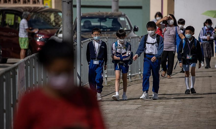Schools in Hong Kong will shut again from tomorrow as part of measures the authorities are taking to battle the spread of the coronavirus in the city, where daily infections have risen above 100 in recent days.