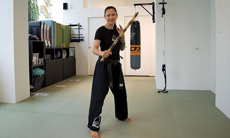 Martial arts instructor Rose Canda started learning kali in 2012. She became an instructor six years later.