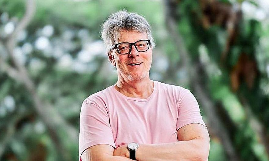 The National University of Singapore said it received an anonymous complaint against Professor Theodore G. Hopf in August. PHOTO: NUS