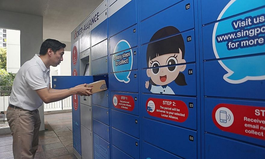The proposed changes to the law would empower the Infocomm Media Development Authority to install and manage the nationwide parcel locker network ahead of its planned roll-out next year.