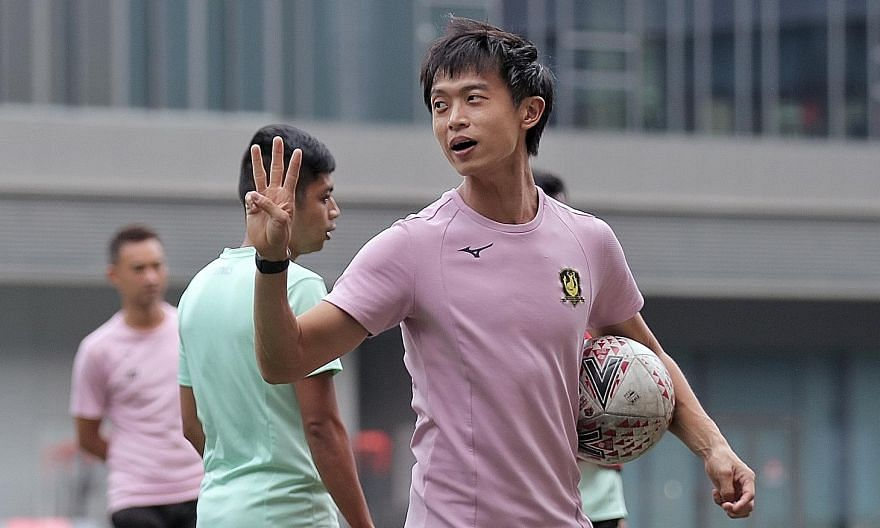 Whatever the outcome today, Tampines coach Gavin Lee, 30, has cemented his reputation as one of Singapore's brightest coaching prospects since taking over the Stags' reins last year.