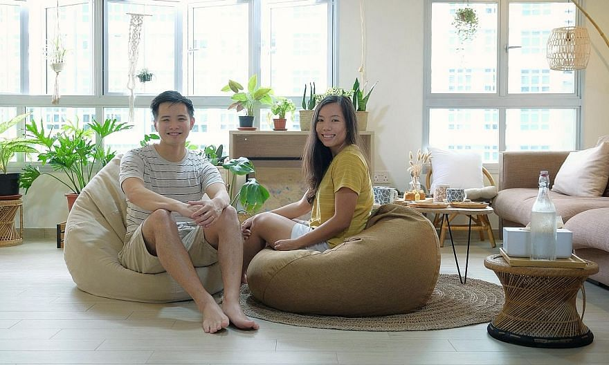 Newlywed couple Joanne Ong and Melvin Soon have taken in different families looking for shelter since their new home was renovated in August last year, even moving out in March so a family of seven stranded in Singapore could seek refuge in their hom