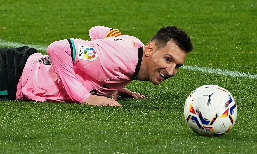 Perhaps no one, Barcelona included, could afford Lionel Messi. His current annual £54 million (S$97 million) salary means any club's finances would need to be radically revised, even if Messi took a considerable cut.