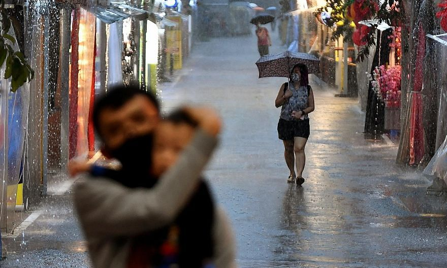 WET, WET, WET:Rainfall of 233.8mm was recorded last June - the wettest June in the last decade. In October, Singapore experienced high frequency of Sumatra squalls which brought heavy rain and gusty winds.