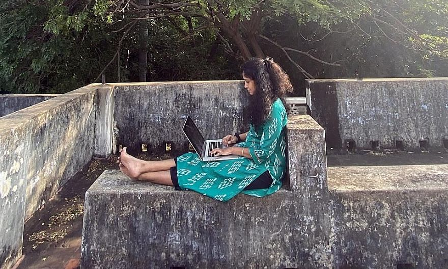 IT professional Prashanth Krishnamurthy revived his family farm in his Settikere village during the pandemic, much to his father's joy. He plans to work on both software and the soil hereon. Software product developer Srividhya Balakrishnan, 27, love