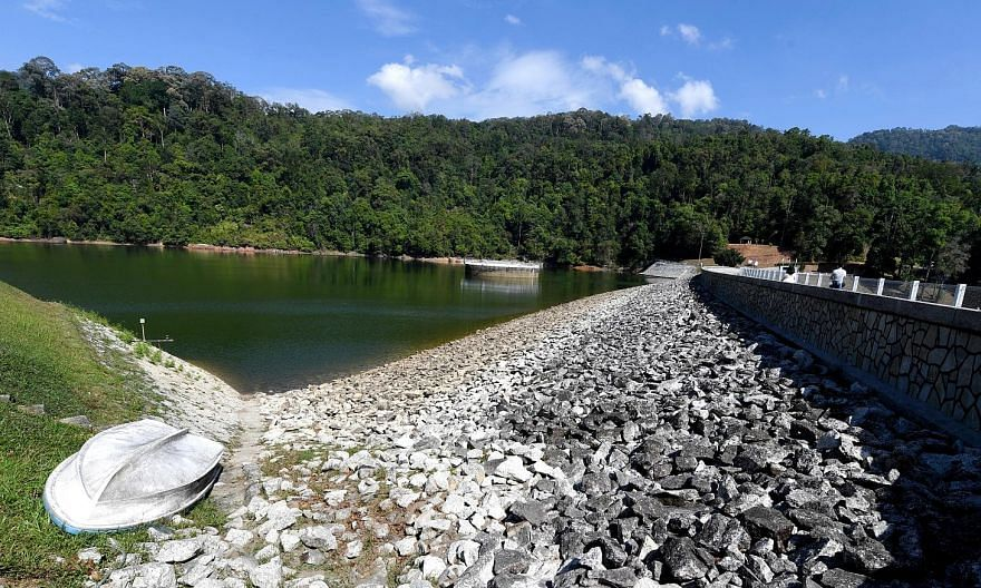 The Air Itam dam in Penang. Industry experts and engineers acknowledge that Penang is one of the few states in Malaysia with a sound water management policy. PHOTO: BERNAMA