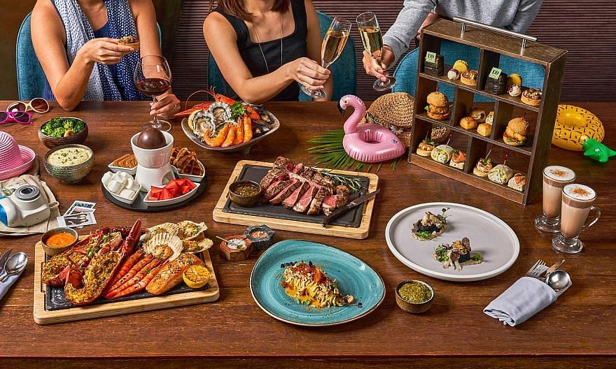 Hilton Singapore is serving up food-themed staycation deals including an Opus Steak-Cation that includes a premium grilled sharing steak; and a Prosecco, Seafood & Valrhona All-Chocolate High Tea Set Staycation.