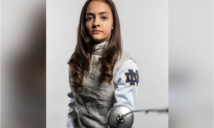 PHOTO: COURTESY OF UNIVERSITY OF NOTRE DAME/FENCING