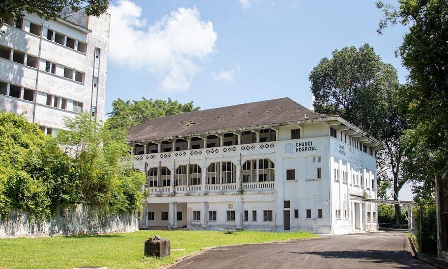 old changi hospital, facade
