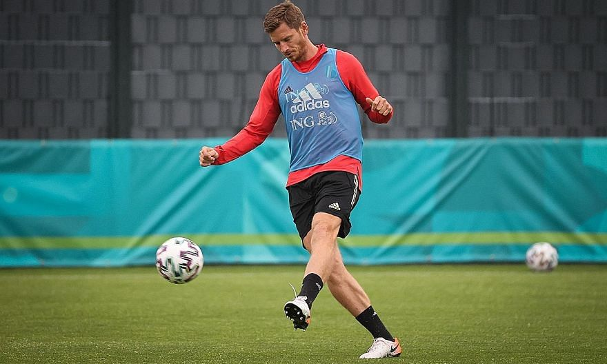 At 34, age is catching up with Belgium defender Jan Vertonghen. PHOTO: AGENCE FRANCE-PRESSE