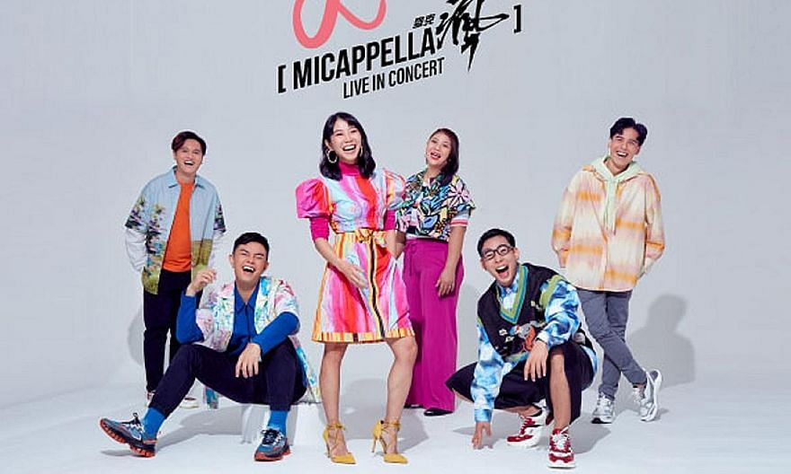 Named Love, MICappella, the local vocal band's upcoming concert is centred on the idea of love letters written to the different people in our lives. PHOTO: MICAPPELLA