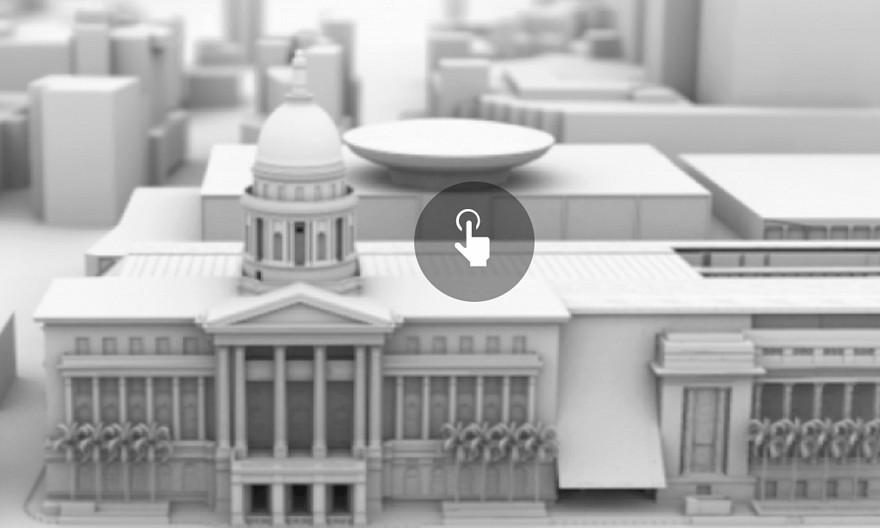 National Gallery Singapore in 360-degrees