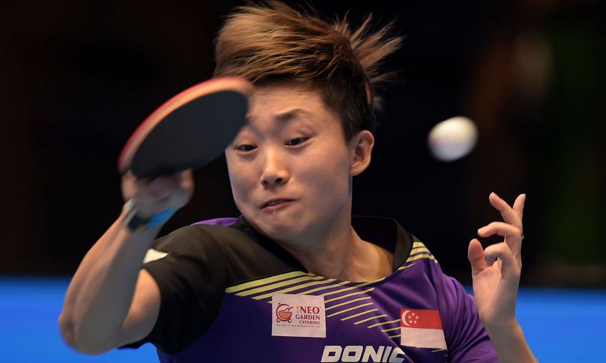Feng Tianwei lost in the semi-finals but her performance in the tournament drew praise from coach Jing Junhong. Despite being hobbled by a back injury, she was the only non-Chinese in the final four.