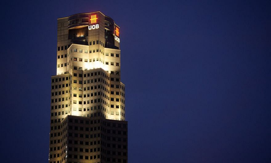 UOB tower in the Central Business District. The bank's non-performing loans have risen to $2.55 billion, with an NPL ratio of 1.3 per cent, but it stresses that its asset quality remains resilient, pointing to its ample NPL coverage of 142.7 per cent