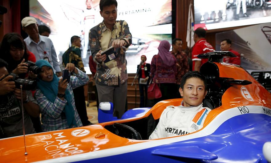 Rio Haryanto, Indonesia's first Formula One driver, will make his debut in Melbourne. The Indonesian dismissed critics who attributed his F1 seat to heavy financial backing, saying hard work has led him to represent the Manor Racing team.