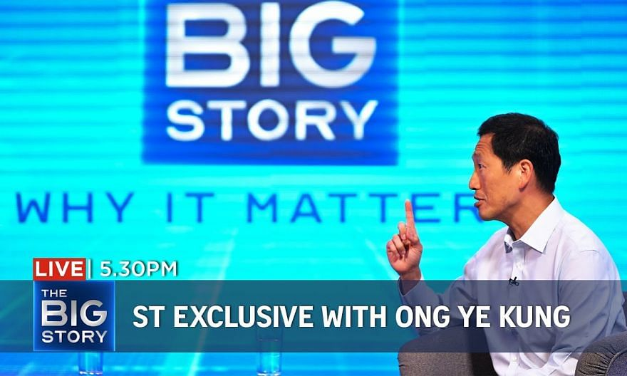 Living with Covid-19: ST exclusive interview with Ong Ye Kung | The Big Story (Special Edition)