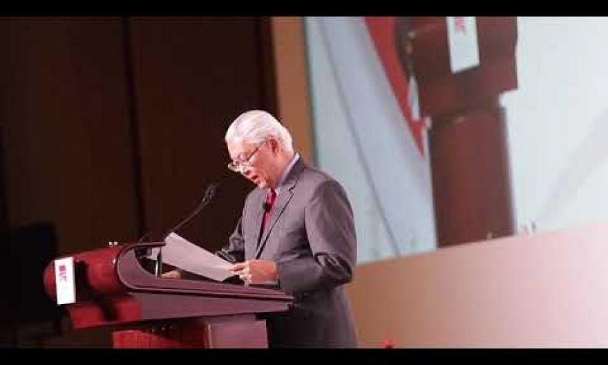 Dr Tony Tan speaks at S Rajaratnam Lecture