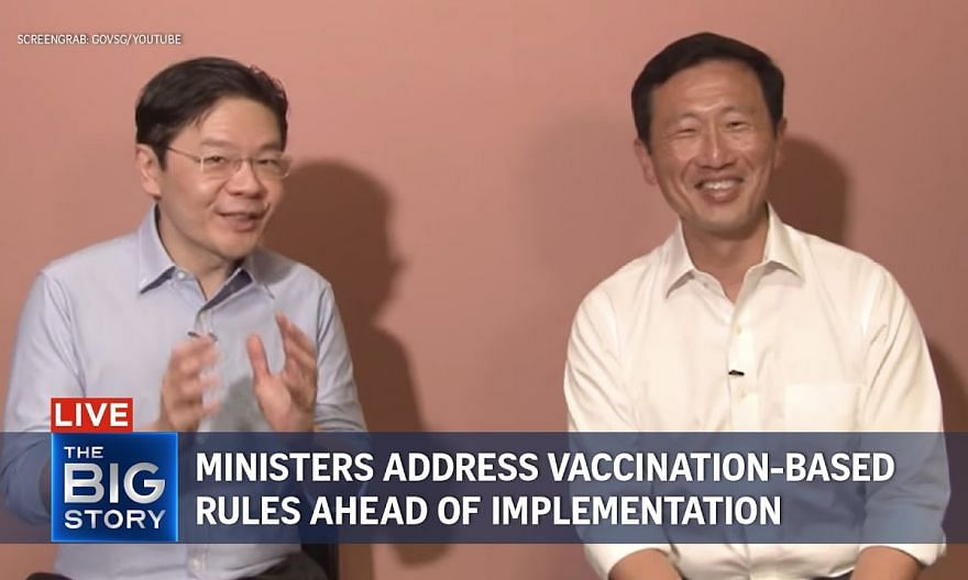Ministers address new vaccination-differentiated curbs ahead of implementation | THE BIG STORY