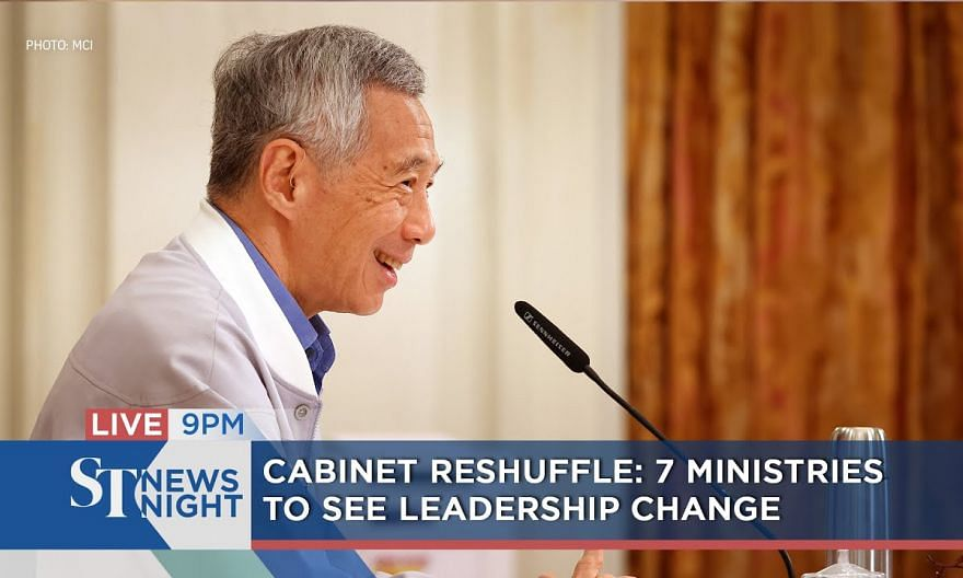 Cabinet Reshuffle - 7 ministries to see leadership change | ST NEWS NIGHT