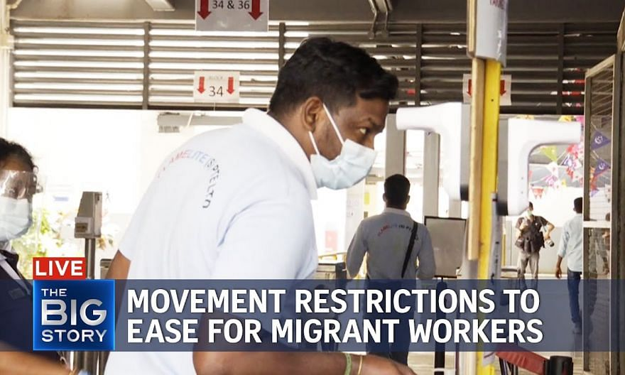Vaccinated migrant workers can visit community from Sept 13 under pilot | THE BIG STORY