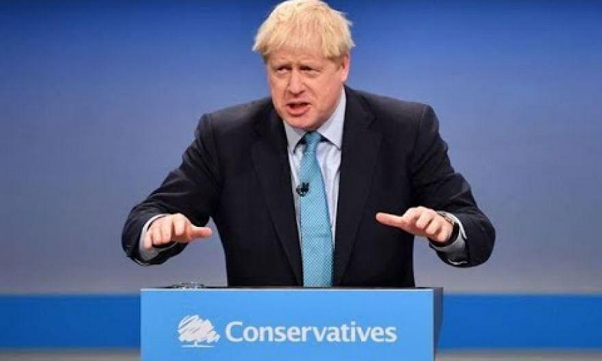 British PM Boris Johnson pledges no checks 'at or near border in Northern Ireland'