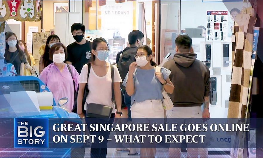 Great Singapore Sale goes online on Sept 9 – what to expect | THE BIG STORY