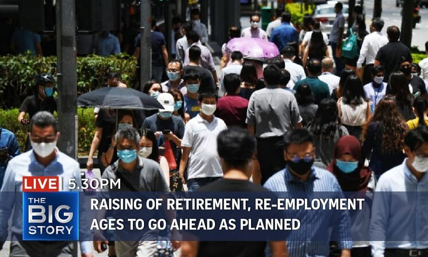 Raising of retirement and re-employment ages to go ahead as planned in 2022 | THE BIG STORY