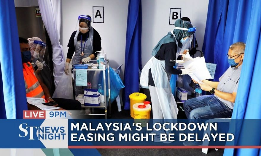 M'sia's lockdown easing might be delayed   ST NEWS NIGHT