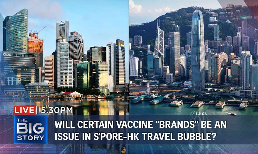 "Revisiting S'pore-HK travel bubble – possible implications from vaccine ""brands"" 